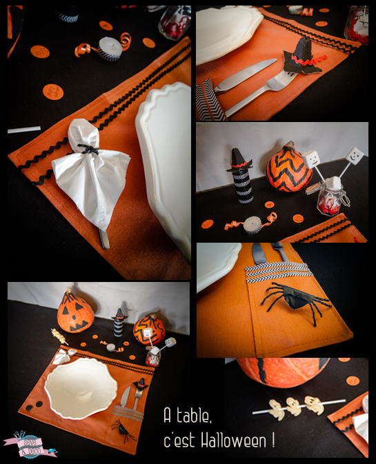 Diy d co de table pour halloween s ve d co for Decoration de table halloween